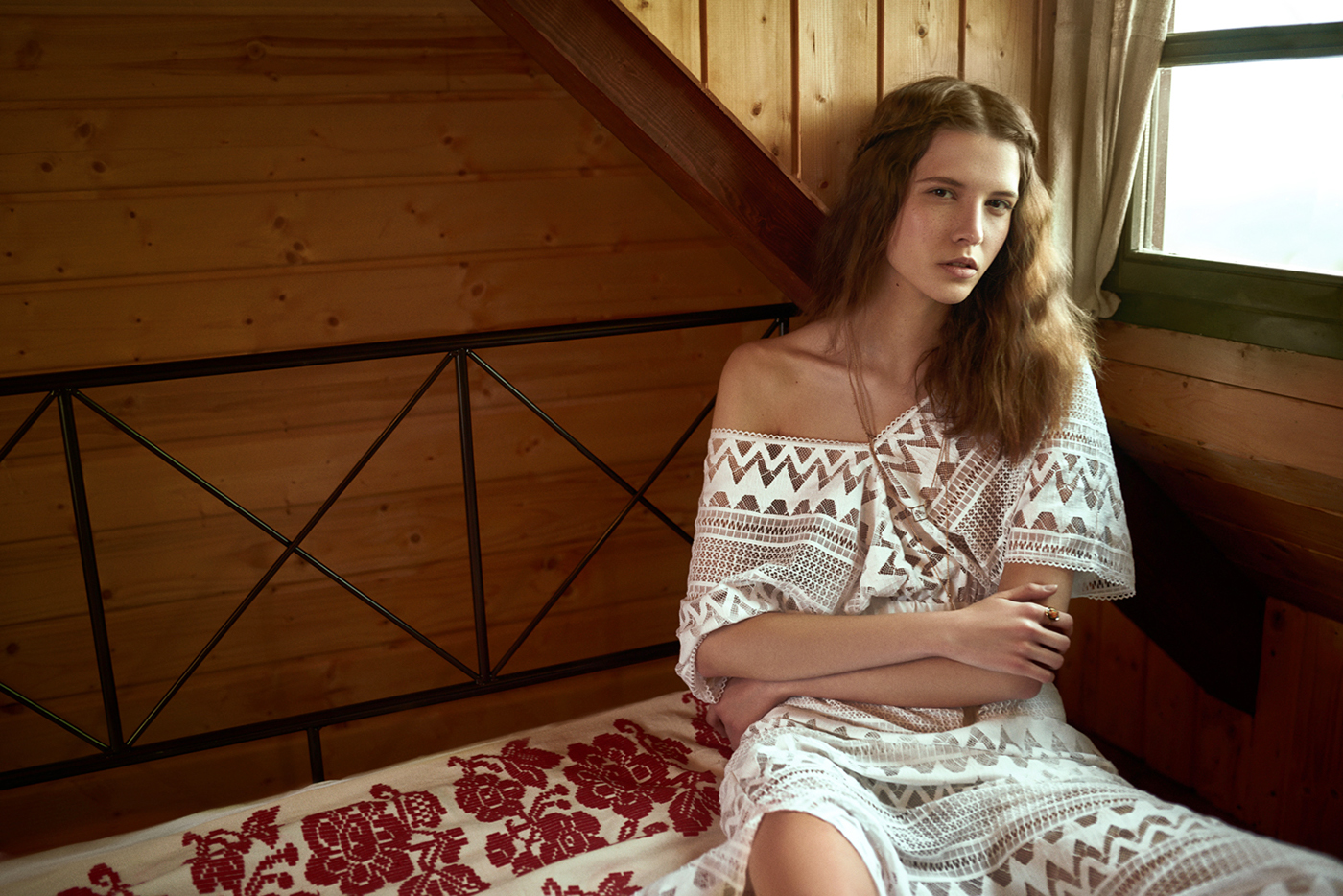 фотосессия для Budi.IN CHIC magazine / модель Sara Sorić - фотограф Franjo Matković