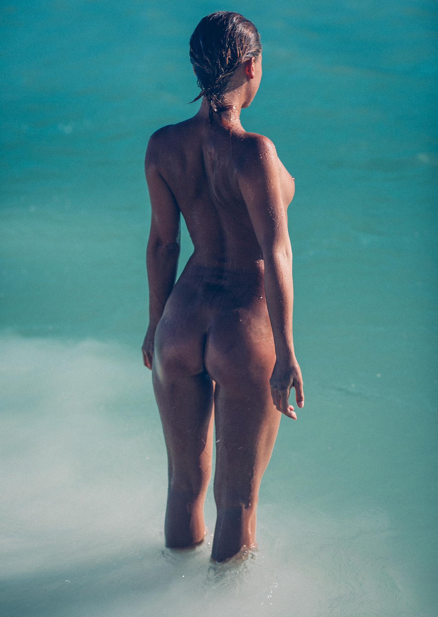 Marisa Papen in chalk / фотограф Thomas Agatz