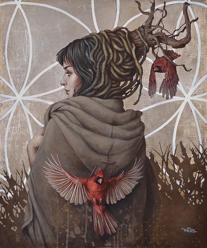 картины Sophie Wilkins