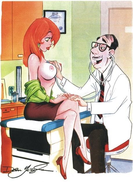 Рисунки из журнала Playboy 8