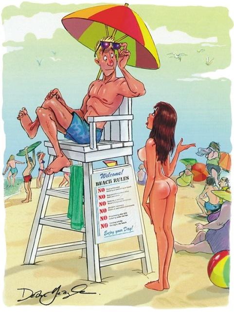 Рисунки из журнала Playboy 12