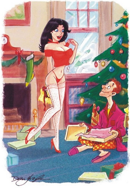 Рисунки из журнала Playboy 14