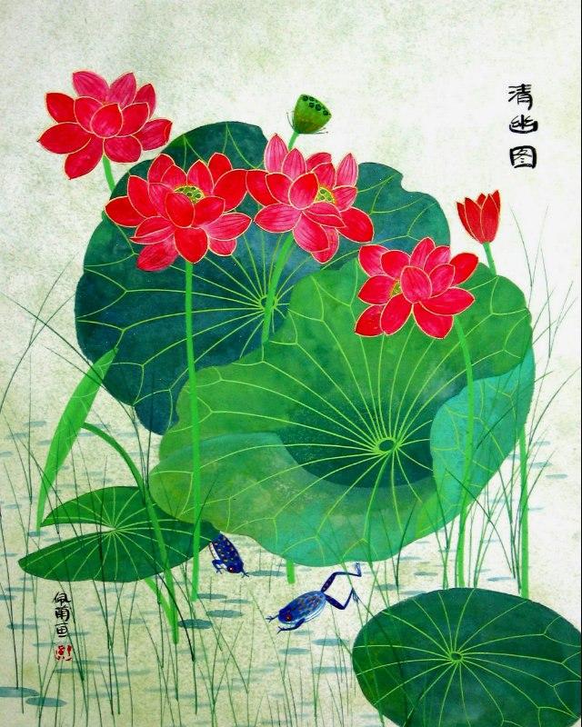 Художница Pui Lan Cockman