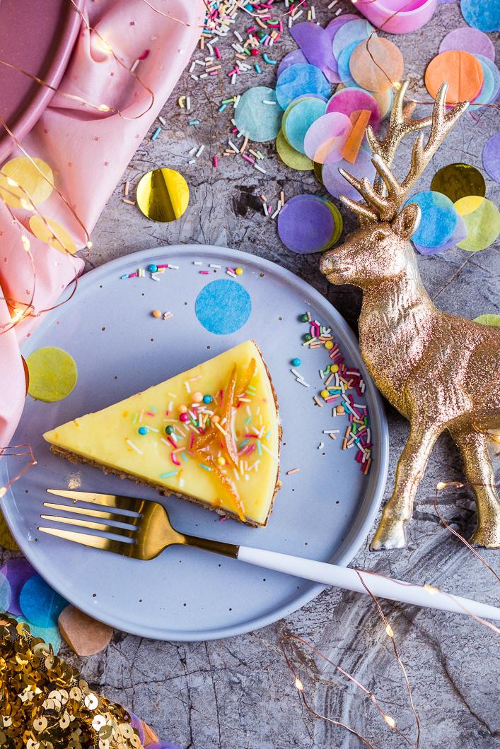 Orange coconut cream cake / фото Amalija Andersone
