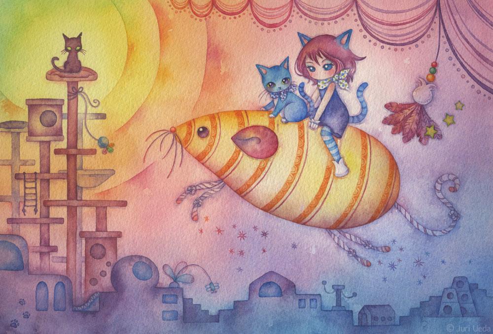 рисунки Juri Ueda