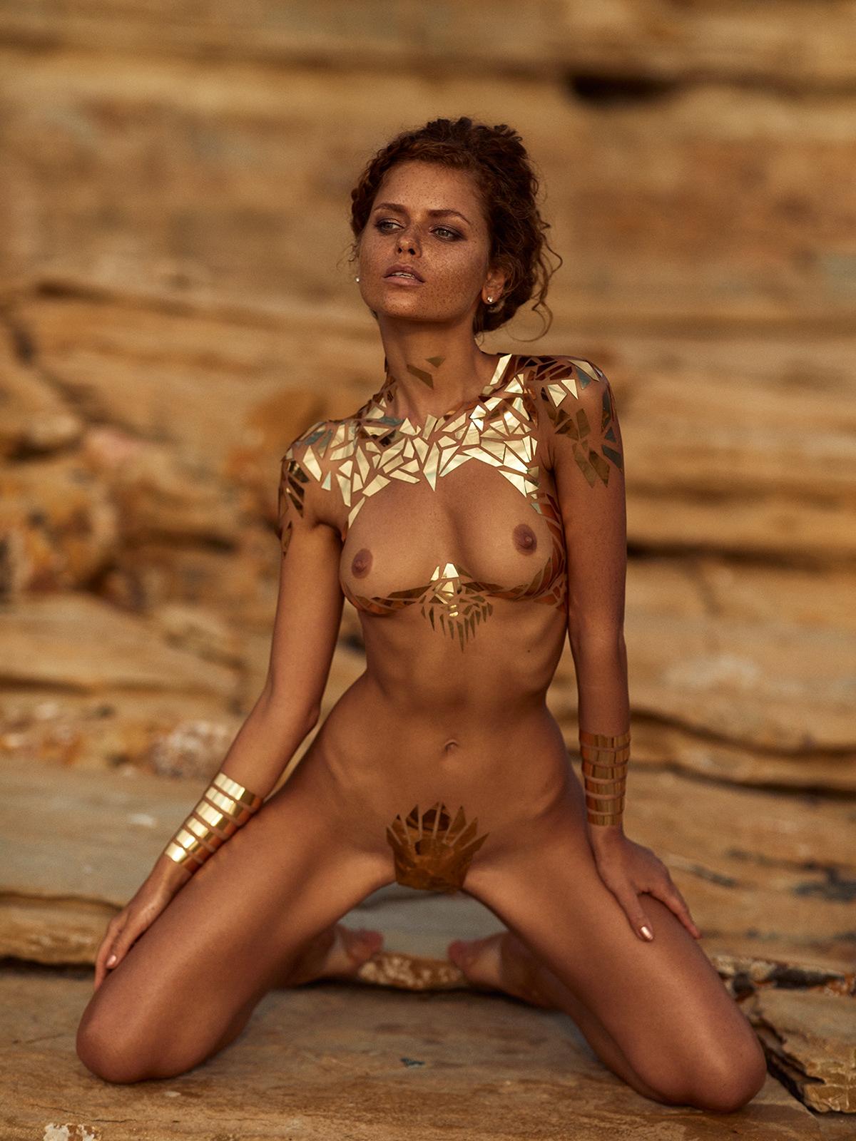 The Golden Girl / Юлия Ярошенко фотограф Joakim Karlsson