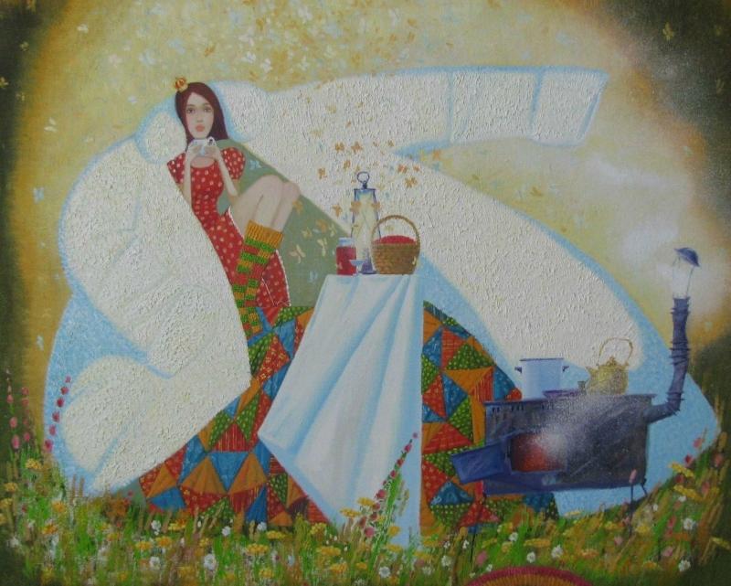 художник Екатерина Чекалина