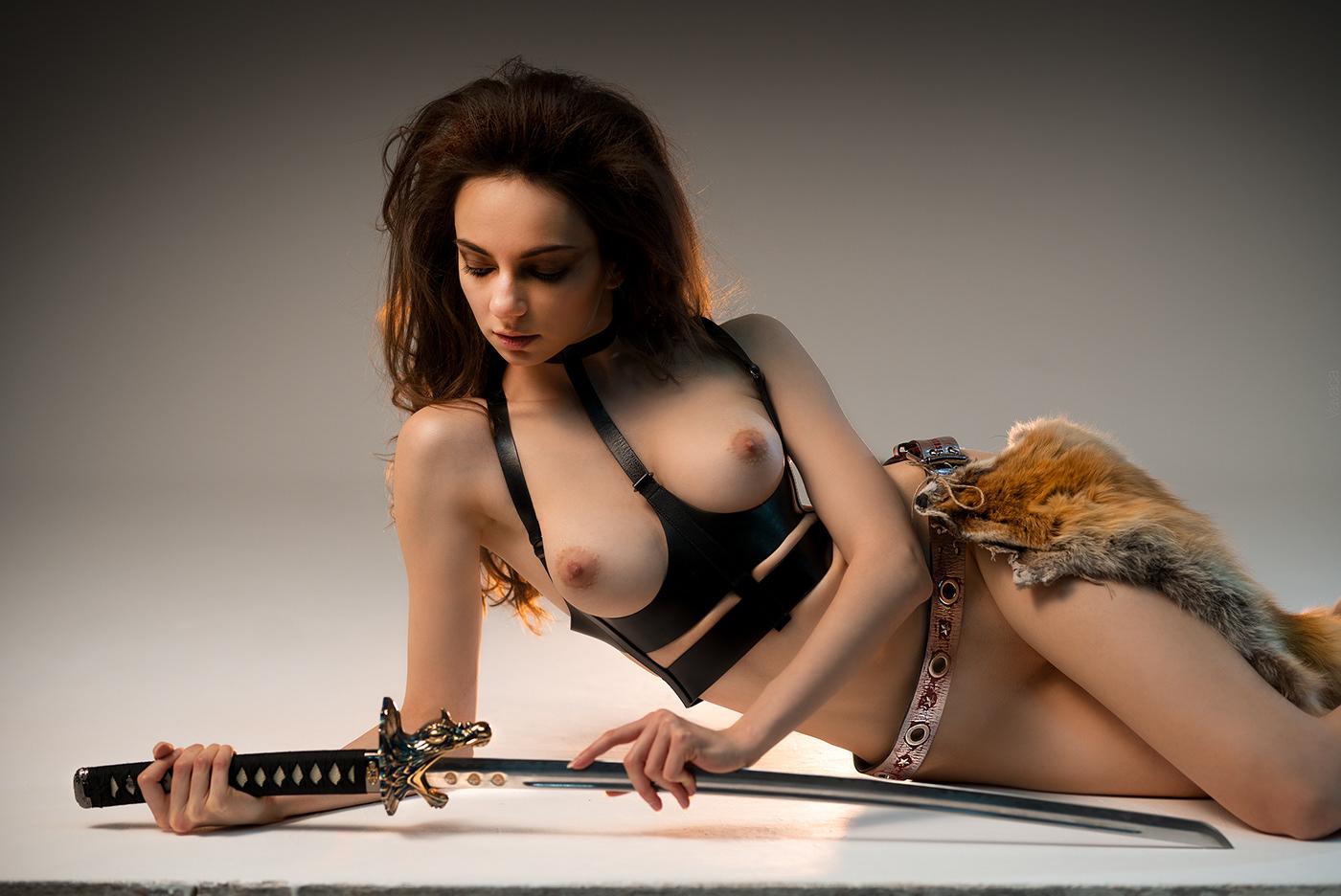 The Warrior * Model Margo Amp / фотограф Владимир Николаев