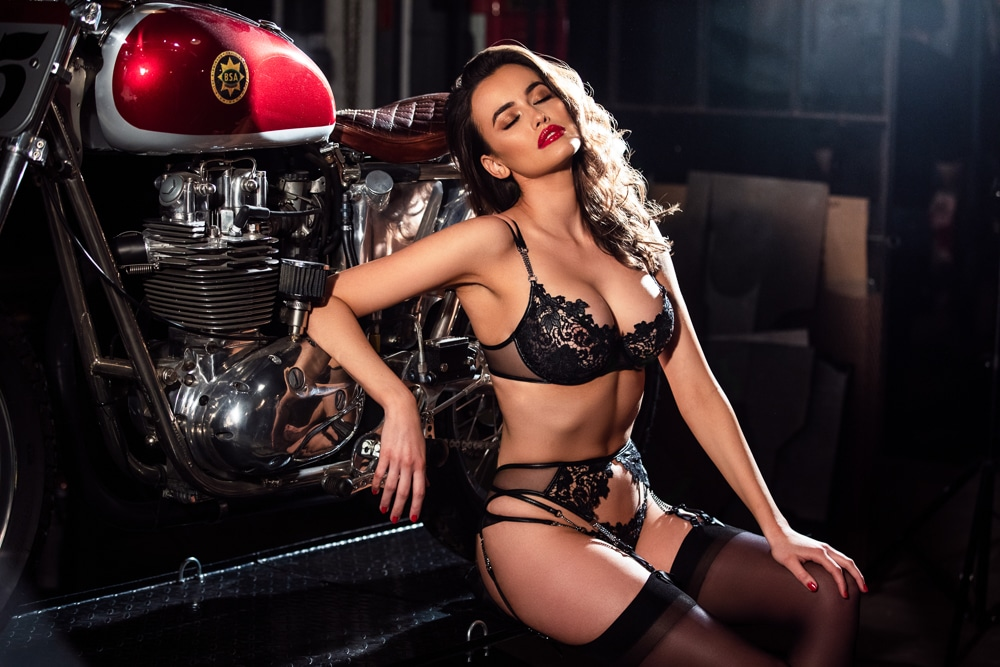 Sarah Stephens for Honey Birdette' s latest campaign