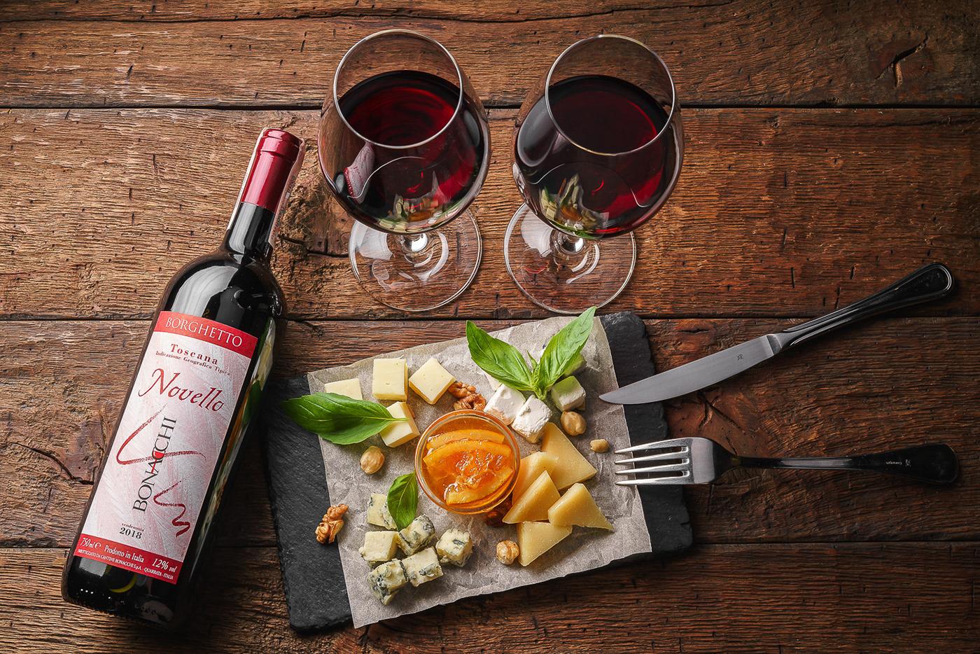 Italian restaurant IL Molino season menu / фотограф Max Smolyar