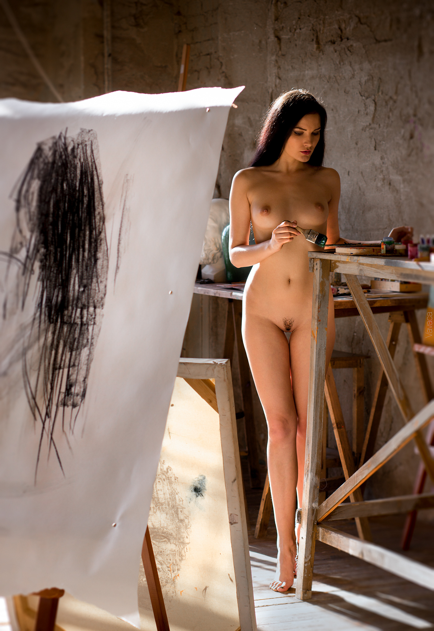 Morning Painting * Model Chira Kovalsky / фото Vladimir Nikolaev