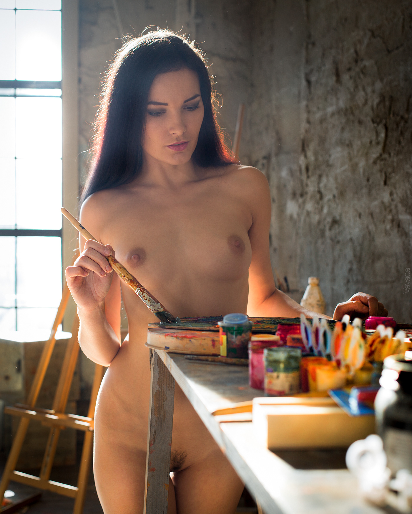 Morning Painting * Model Chira Kovalsky / фото Vladimir Nikolaev