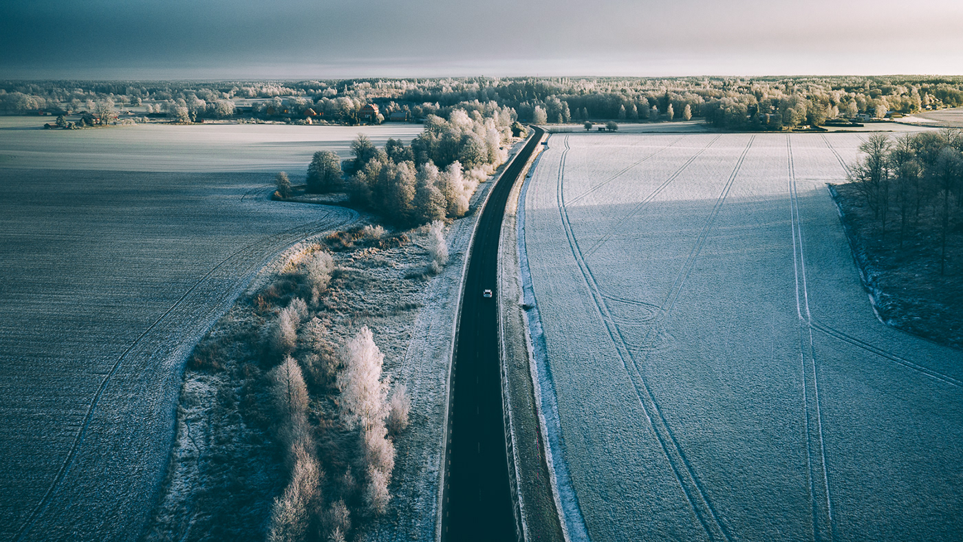 Frozen Sweden / фотограф Tobias Hägg