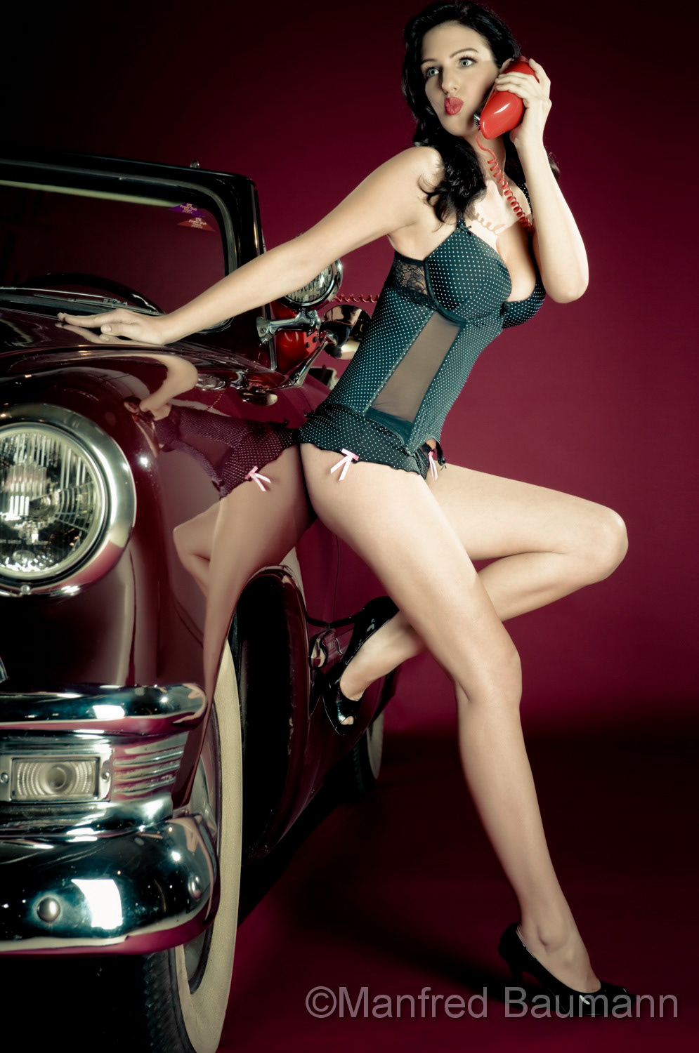 PIN UP PHOTOGRAPHY by Manfred Baumann
