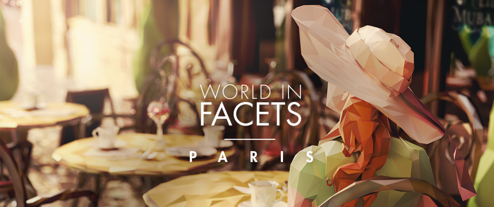 World in Facets PARIS / работа Mat Szulik