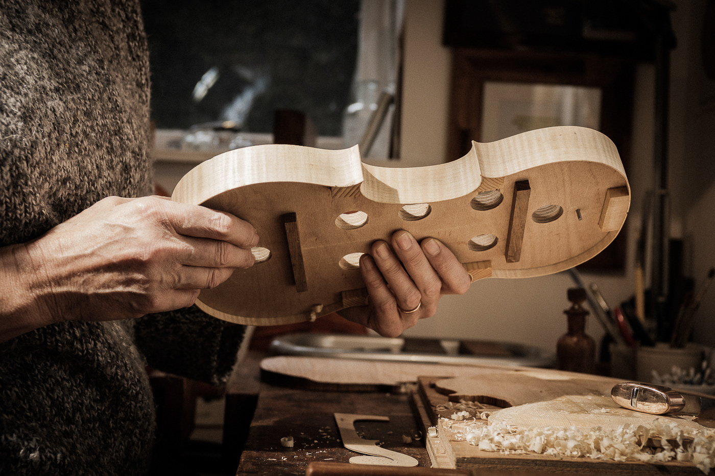 Violin / фото Dayve Ward