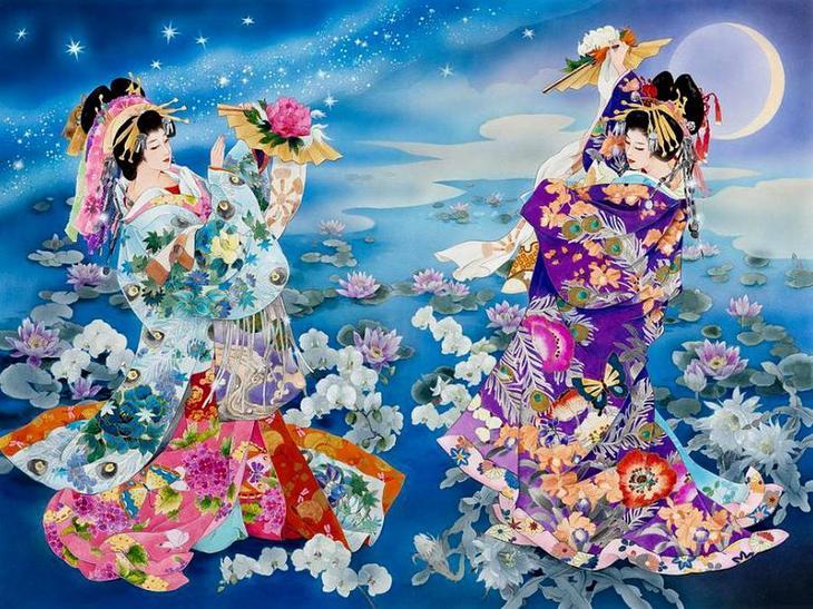 работы Haruyo Morita