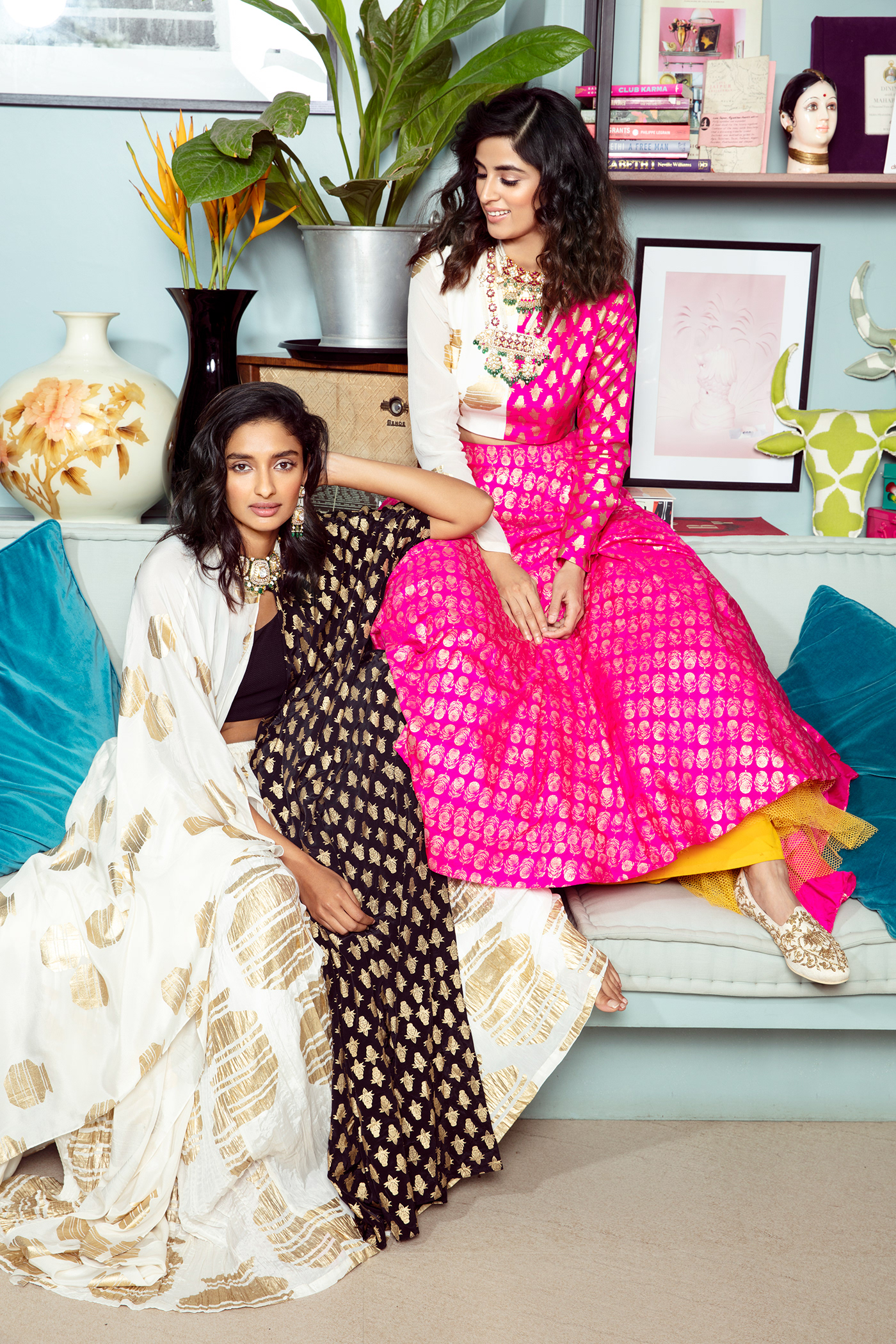 The Pernia's Pop Up show Campaign// фото Chandni Bajaj
