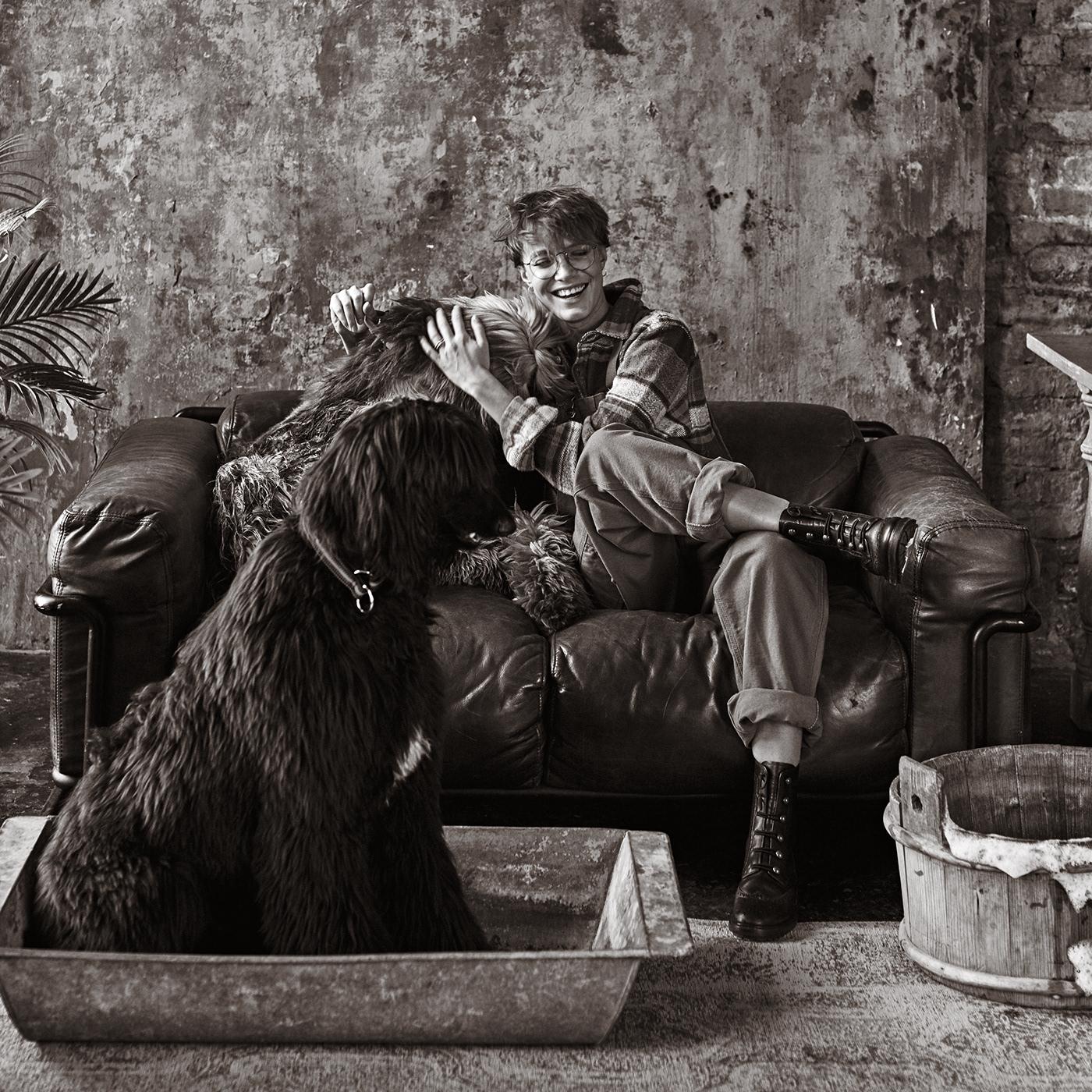 Chucha the Groomer / фотограф Игорь Новиков модель Оксана Чуча