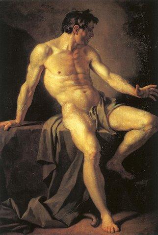 А. Лосенко. Каин. 1768