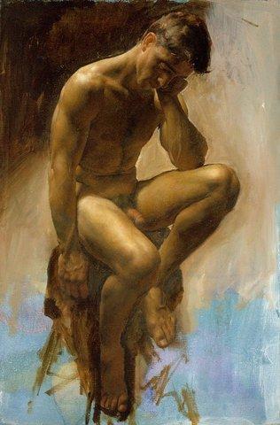 Я. Коллинз. Мужская фигура. 2001