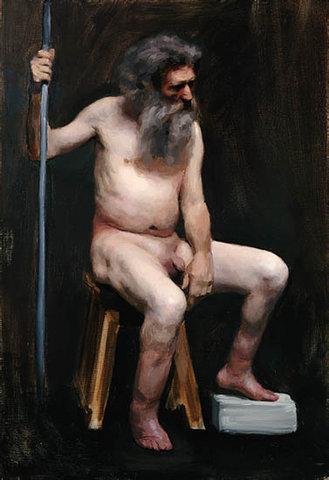А. Готлиб. Бездомный. Портрет Ганса
