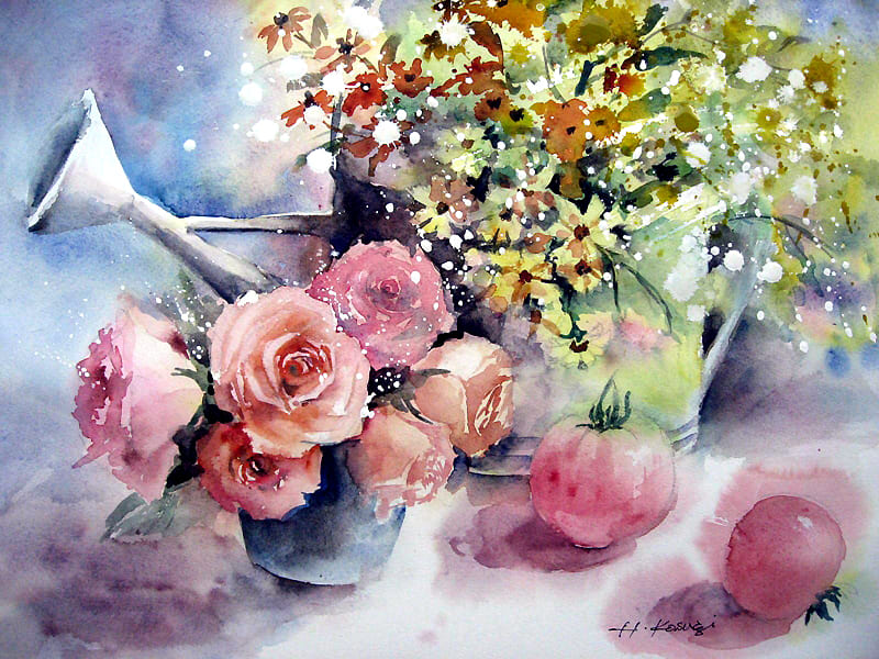 цветы Harumi Kosugi