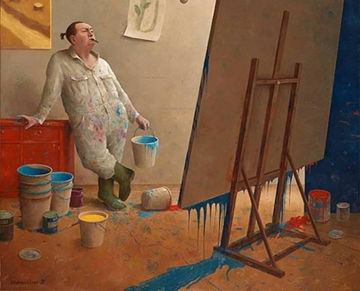 художник Marius van Dokkum