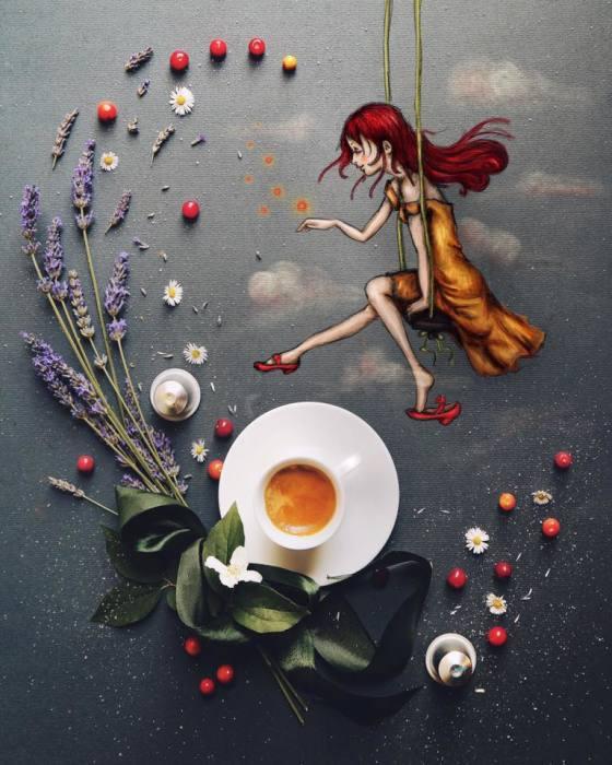 завтрак Cinzia Bolognesi