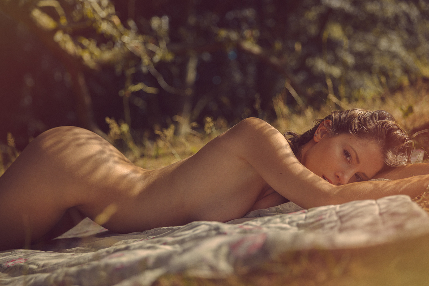 Miluniel for YUME Magazine / фотограф Thomas Agatz