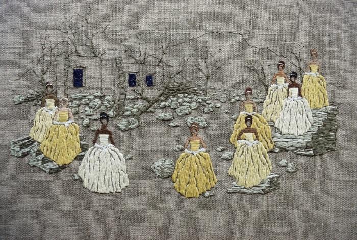 вышивка Michelle Kingdom