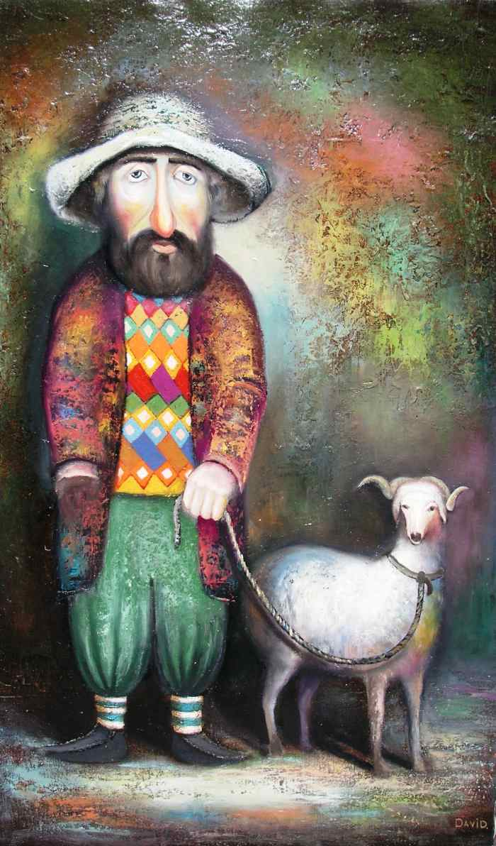 художник Давид Мартиашвили