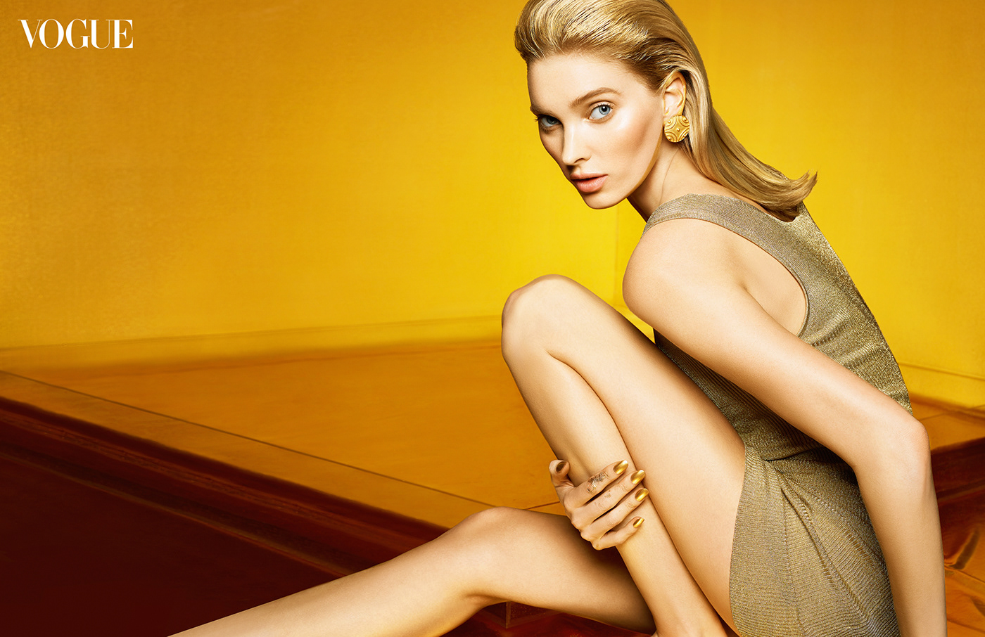 Elsa Hosk for VOGUE Taiwan Beauty
