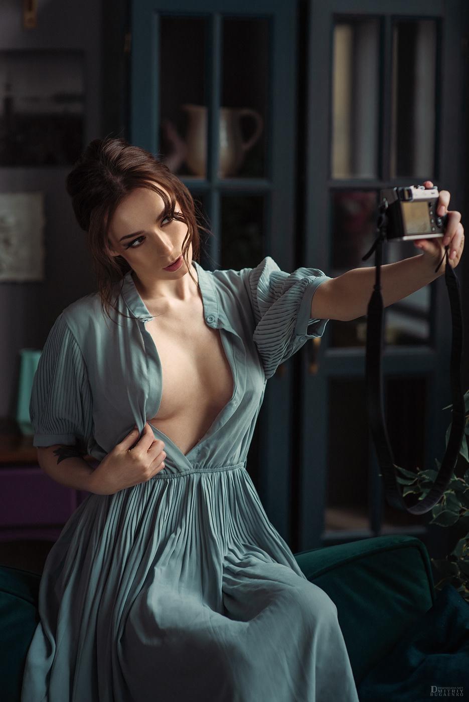 Selfie / модель Yana Arbenina фотограф Dmitriy Bugaenko