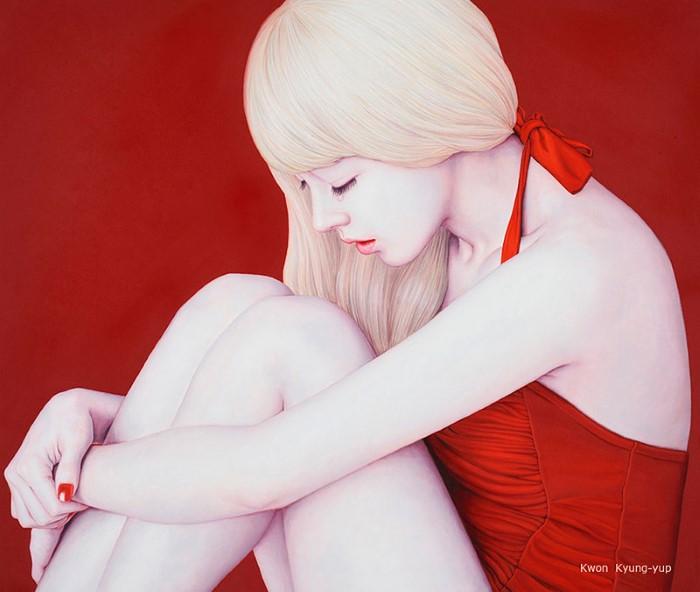 красавицы Kwon Kyung-yup