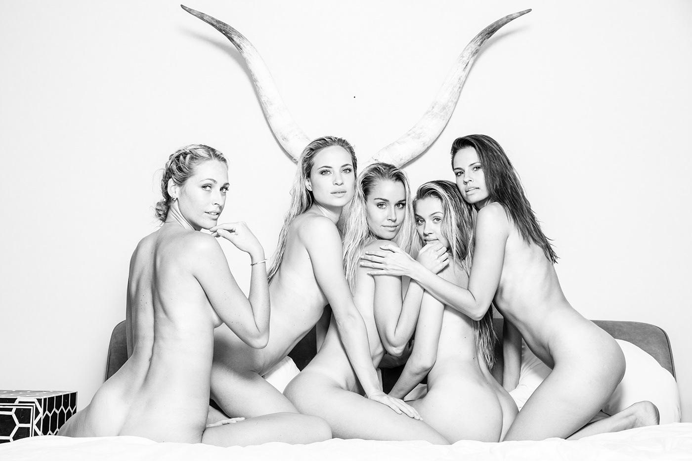 5 Models / фото Gary Huddlestone
