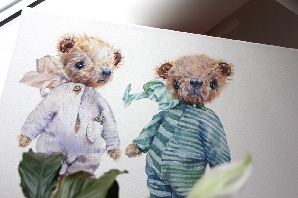 Author toys / рисунки Olga Moskaleva
