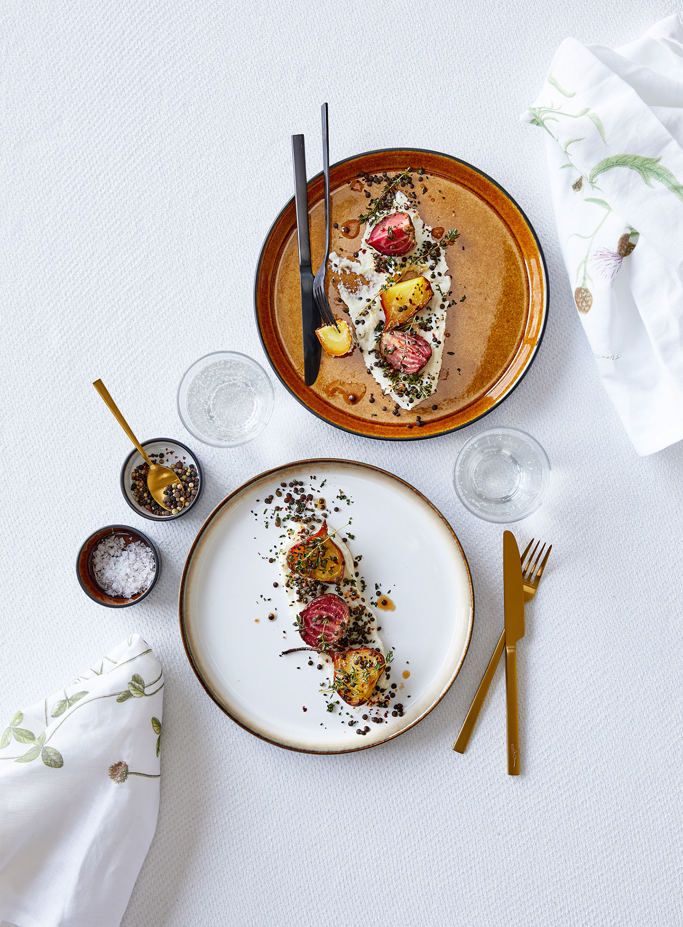 Foodstyling by Trine Laustsen for Christian Bitz