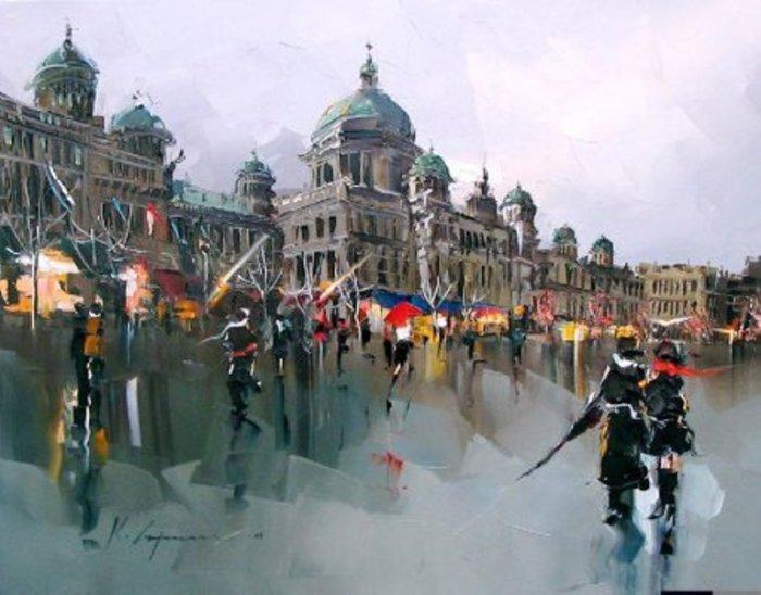художник Kal Gajoum