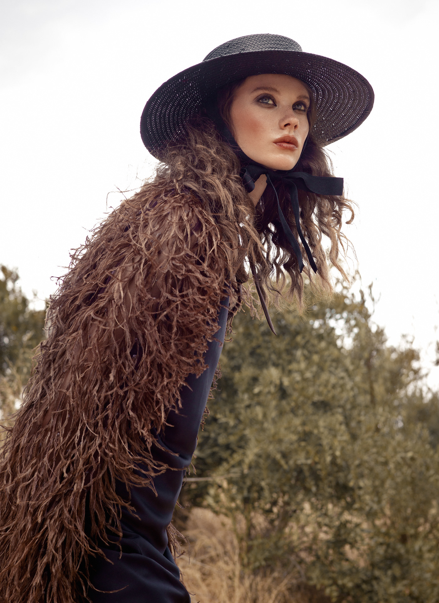 In The Wild for L'Officiel Ukraine / Photography Elena Iv-skaya - Model Kayla Hansen