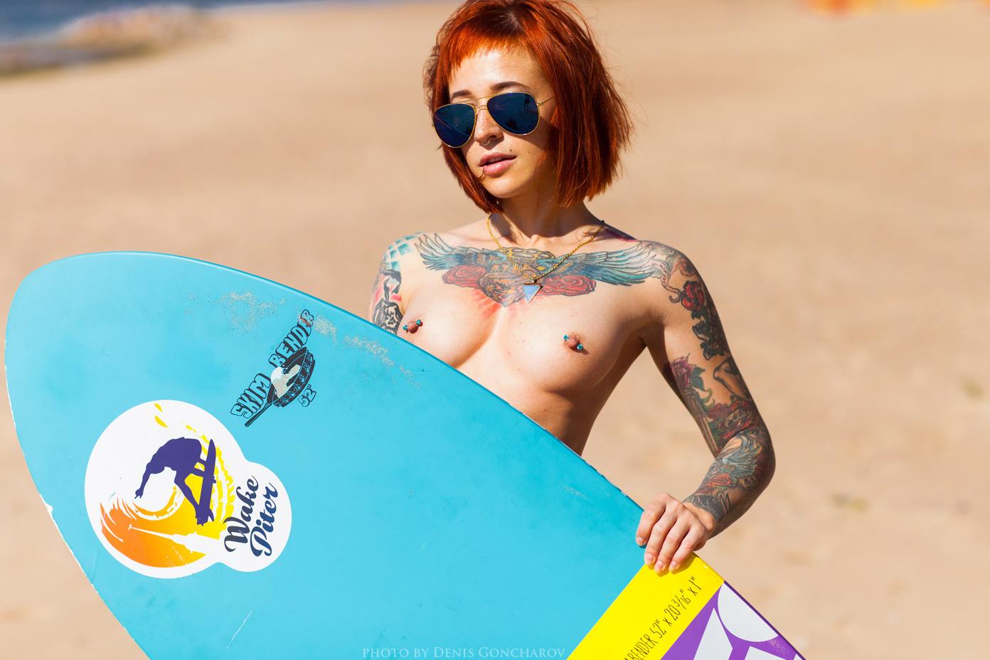 Серфинг / фотограф Денис Гончаров