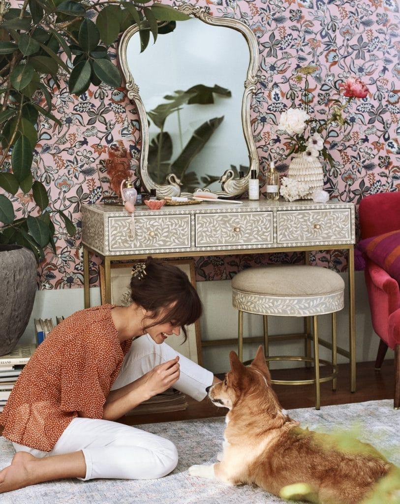 Vanessa Lorenzo & Marta Dyks by Graham Dunn for Anthropologie Spring 2019
