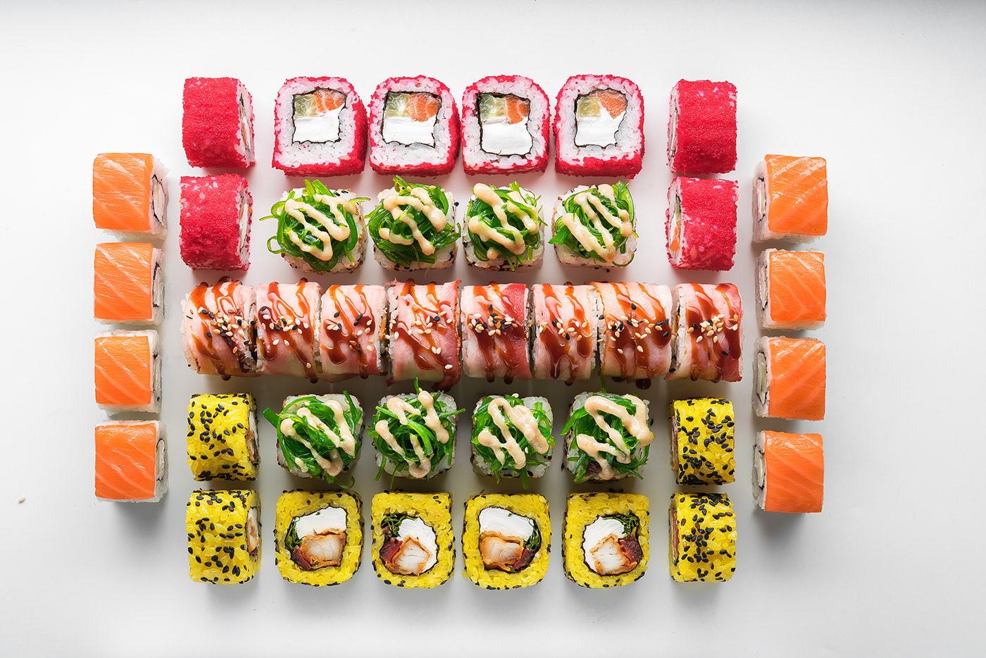 Sushi Geometry / фото Max Smolyar