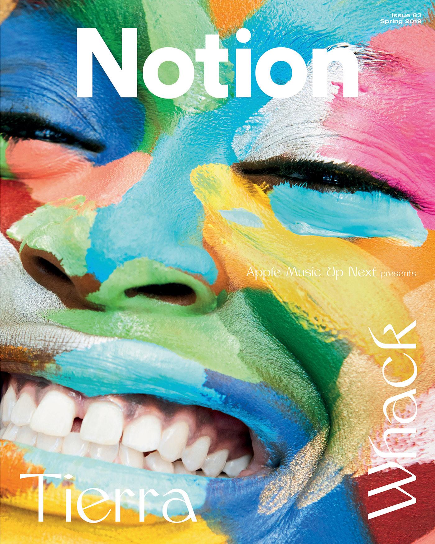 Tierra Whack shot for NOTION Magazine