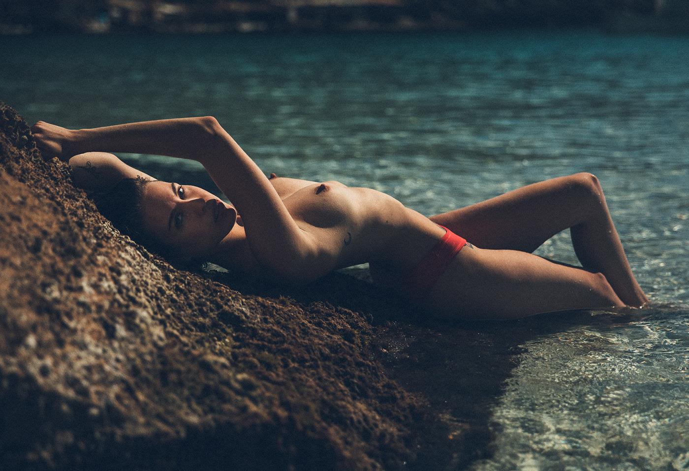 Melanie De Toni / фотограф Thomas Agatz