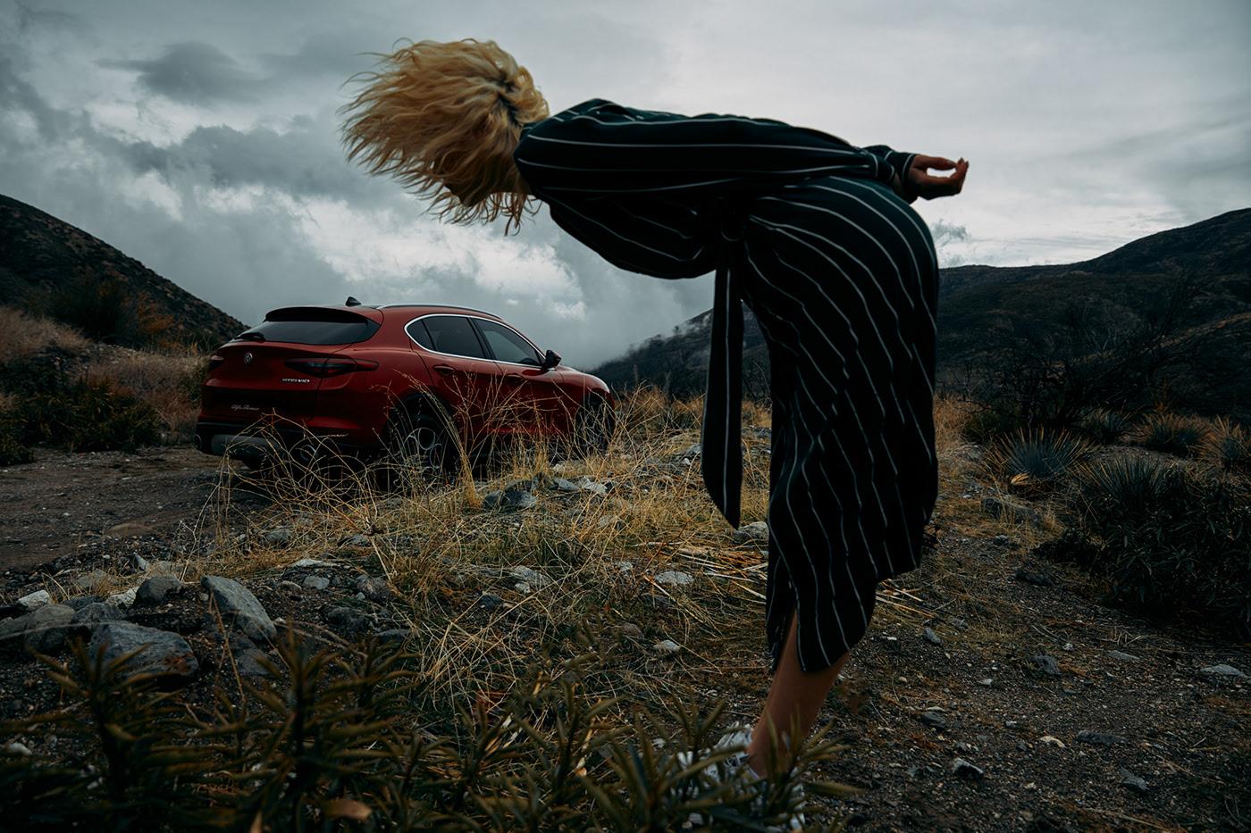 Alfa Romeo Stelvio / фотограф Dave Hill