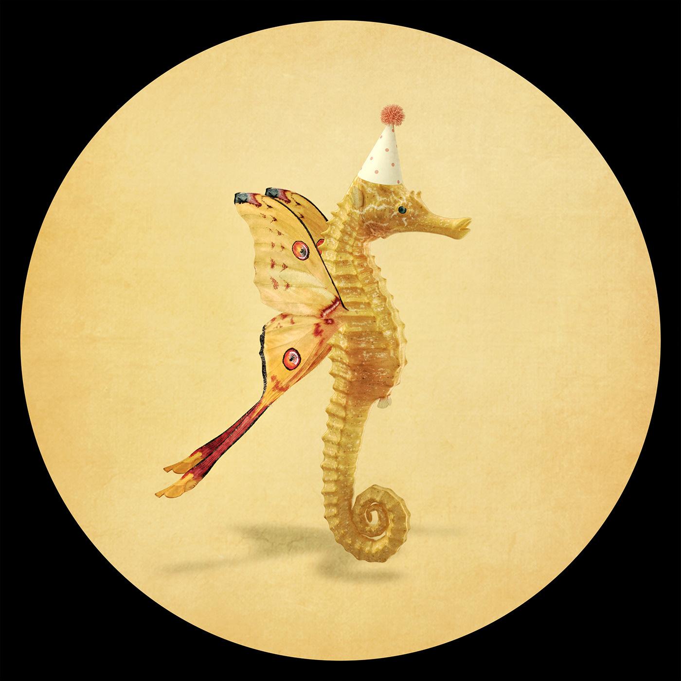 Fabulous Creatures / работы Bettina Güber