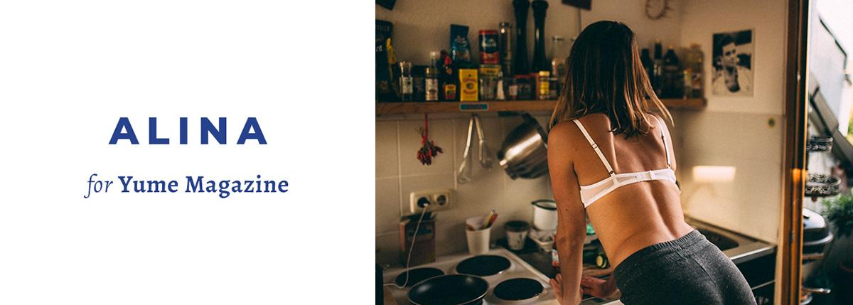 Alina for Yume Magazine / фото Kai-Hendrik Schroeder
