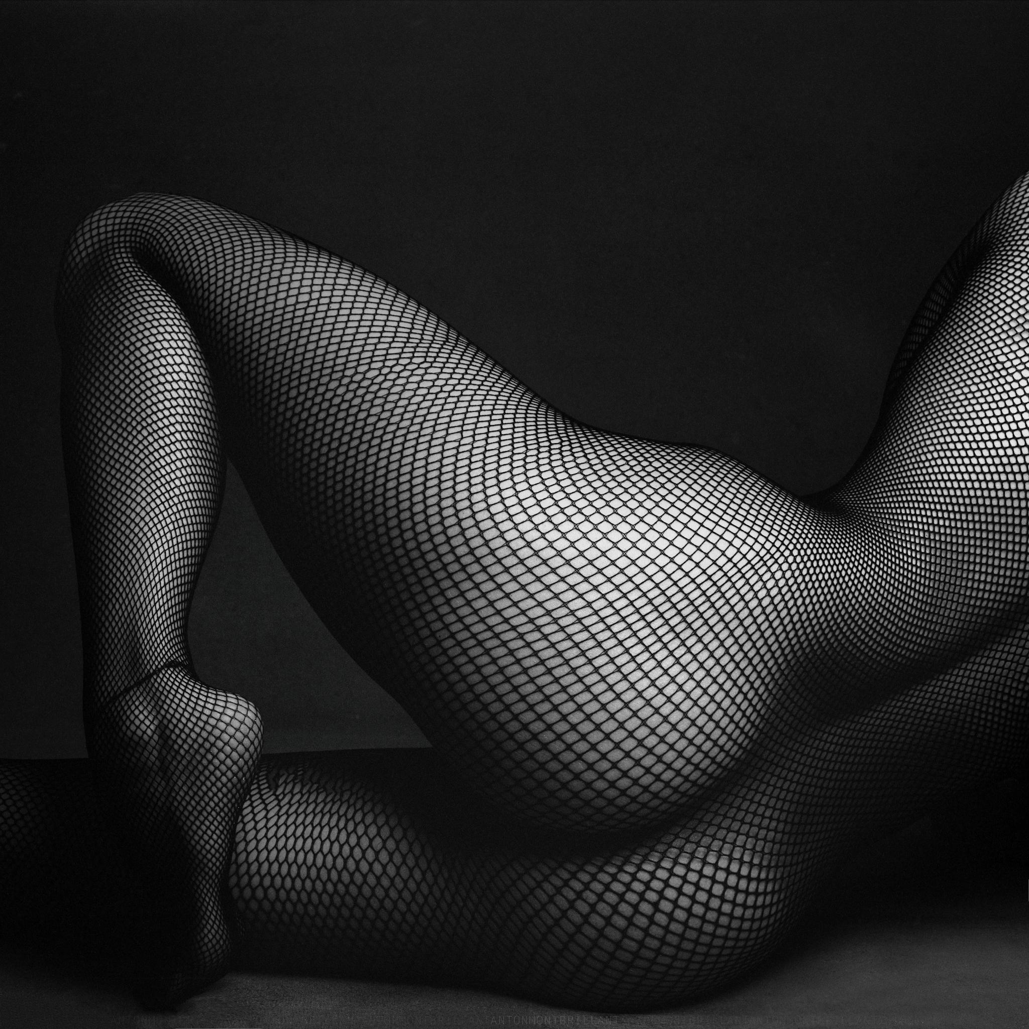 Незнакомка в сетке / Anton Montbrillant