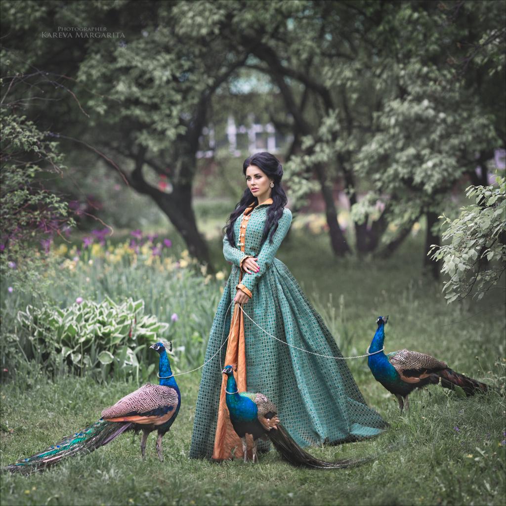 Павлин / фотограф Маргарита Карева
